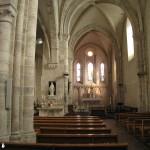 Eglise de Boigneville - interieur
